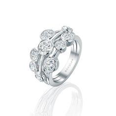 GABRIELLE'S AMAZING FANTASY CLOSET | Boodles Raindance platinum and diamond ring |