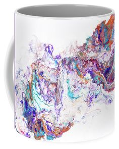 Abstract Fluid Acrylic Painting Coffee Mug for Sale by Jenny Rainbow Mugs For Sale, Fluid Acrylics, Fine Art Photography, Oriental, Coffee Mugs, Tapestry, Rainbow, Abstract, Unique