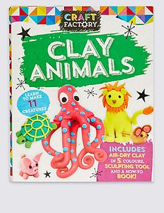 Craft Factory Clay Animals | M&S