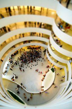 The Guggenheim Museum (NYC), 2010 by Bryan Solarski