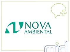 Criação da marca para o cliente Nova Ambiental, de Angola