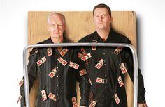 Colin Mochrie & Brad Sherwood: Two Man Group. Long Center 28 February 2014, 8pm. Austin Texas USA