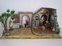 Portal, Nativity, Christmas Decorations, Xmas, Cribs, Painting, Art, Christmas Ornaments, Daycares