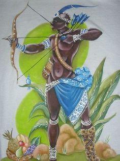 Black Panther and the rise of Afrofuturism Culture African Mythology, African Goddess, African American Artwork, African Art, African Life, Black Women Art, Black Art, Yoruba Orishas, Sacred Art