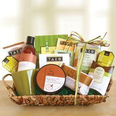 Tazo Be Well Tea Gift Basket