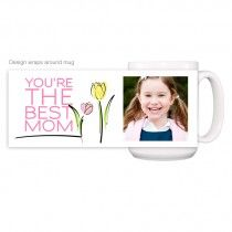 This personalized photo mug serves up a delicious, steaming dose of your favorite brew along with a view of your favorite faces every morning.