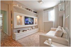 Neat TV wall