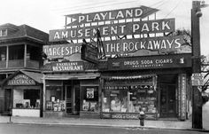 The Rockaway's Playland Amusement Park New York Rockaway Park, Rockaway Beach, Department Of Corrections, Queens New York, Lower East Side, Vintage New York, City That Never Sleeps, Beach Photos, Back In The Day