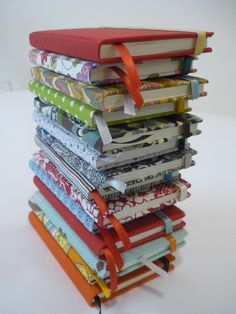 fabric covered journals
