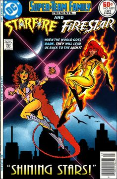 Super-Team Family: The Lost Issues!: Starfire and Firestar