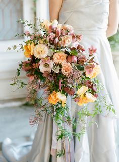 You Can Never, Ever Have Too Many Flowers - this is such a beautiful bridal bouquet for a fall wedding. Spring Wedding Flowers, Bridal Flowers, Floral Wedding, Summer Wedding, Wedding Floral Arrangements, Pink Flowers, Order Flowers, Wedding Beach, Autumn Wedding