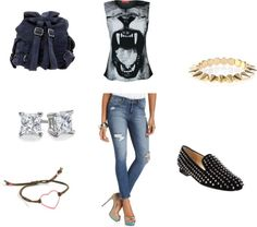 """""""lion"""" by erinbkelly on Polyvore"""
