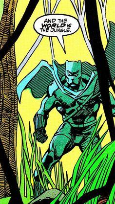 Black Panther Vol. 2 #4 (October 1988) Art by Denys Cowan, Sam De La Rosa & Bob Sharen Words by Peter B. Gillis