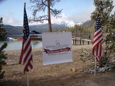Memorial Run at the amazing Redfish Lake Lodge