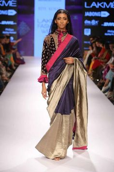 Dont Like the blouse but love the Saree colour combo