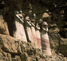 Sarcophagi of Karajia by vilayatours, via Flickr
