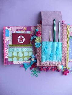Another fabulous organizer by Elena Fiore.  She also talks a bit about designing it.