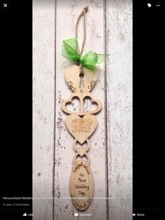 Excited to share this item from my shop: Personalised Engraved Lovespoon with Welsh Dragon hand engraved, sheer ribbon. Handmade Anniversary Gifts, 5th Wedding Anniversary Gift, Rustic Wedding Gifts, Personalized Wedding Gifts, Welsh Love Spoons, Welsh Dragon, Dragon Heart, Photo Album Scrapbooking, Destination Wedding Planner