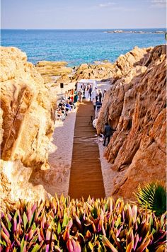 Jewish Beach Wedding Ceremony  (IQ Photo) - View Full Wedding - www.mazelmoments.com/blog/16456/destination-jewish-wedding-cabo-beach-mexico/