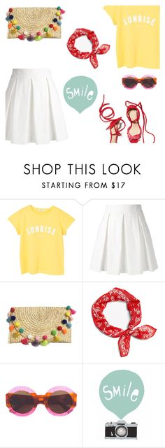"""""""Sunny days to come"""" by freddarling on Polyvore featuring MANGO, Boutique Moschino, rag & bone, Gucci and Seventy Tree"""