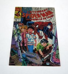 Marvel - Spiderman - Spiderman Comics - L'étonnant SPIDER-MAN - La rondelle de Troie! - Marvel Comics - Vol. 1 no.1 1990