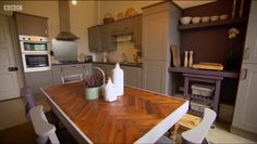 Shaker kitchen from the 2014 Great Interior Design Challenge