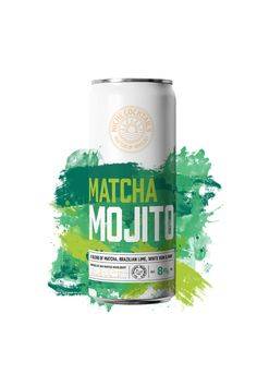 A Twist on a Smooth Classic  Our Matcha Mojito is a delicious blend of matcha, Brazilian lime, white rum and mint.  Interested in serving our Niche Cocktails in your establishment? Get in touch and become a stockist. Cocktails In A Can, Drinks, Mojito, Matcha, Rum, Food And Drink, Smooth, Mint, Touch