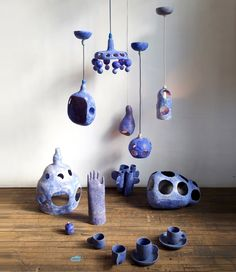 Yuko Nishikawa is a Japanese designer specializing in contemporary ceramics that bridge the world of fantastical lightscapes and whimsical art.