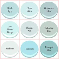 Benjamin Moore Palladian Blue - Google Search