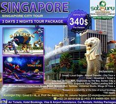 Satguru Indonesia - Travel Management Company, 6 : Hello travelers, mari bergabung bersama kami dalam paket Singapore City Tour selama 3 hari mengunjungi beberapa lokasi wisata menarik dan indah dengan harga terjangkau dan kenyamanan bersama keluarga. 👉Hubungi kami dan pesan sekarang juga! *harga sewaktu-waktu bisa berubah. -------------------------- 💳Dapatkan diskon dan promo khusus lainnya di bulan ini. -------------------------- 🏠Hubungi kami atau kunjungi: 📍Kuningan City - Level 2…