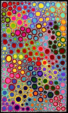 Aboriginal Artwork by Sally Clark. Aboriginal Dot Art, Aboriginal Painting, Aboriginal Artists, Dot Art Painting, Encaustic Painting, Mandala, Australian Art, Indigenous Art, Art Abstrait