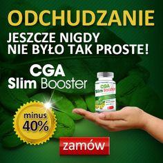 OFERTA SPECJALNA!!!! CGA SLIM BOOSTER - 40%