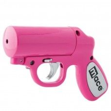 MACE Pepper Gun with LED Strobe - Pink