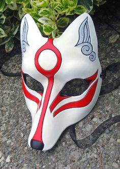 Amaterasu mask ~ deviantart