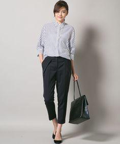 商品画像 - 【洗える!】Hi-Twist Stretch パンツ / ICB(アイシービー) オンワードグループ公式ファッション通販サイト ONWARD
