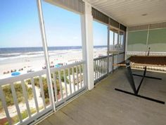 Lovely, Modern Oceanfront Beach House - Oceanfront Screened Porch - SURFSUPVacation Rental in Cherry Grove Beach from @homeaway! #vacation #rental #travel #homeaway