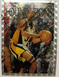Topps Finest Silver Reggie Miller Basketball 1997 Indiana Pacers HOF 270 Card #IndianaPacers #forsale Topps Finest Silver Reggie Miller Basketball 1997 Indiana Pacers HOF 270 Card #topps #reggiemiller #basketball #indianapacers #hof #basketballcards #basketballcard #nba #vintage #sportscards #collect #flashback #cardcollector #nbaallstarto #pacersnation #pacernation #pacer #gopacers #pacers #indiana http://ow.ly/RR2Z3065IZ6