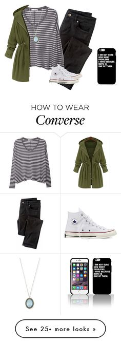 """I can't sleep...argh"" by hme-prep on Polyvore featuring Wrap, MANGO, Converse and Armenta"