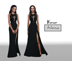 Kenzar-ArtemisThe dress it's inspired by this one XXXby Elie Saab*Standalone*one colorEnjoy ! ♥If you see any problems please contact me.Tag me if you use it ^-^Download MediafireNote : You need– This Mesh – by @starlord-sims Thank you !