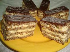 Oříškový královský dort s jemným nadýchaným krémem – připraveno máte za 30 minut! Romanian Desserts, Romanian Food, Romanian Recipes, Delicious Deserts, Yummy Food, Cake Recipes, Dessert Recipes, Czech Recipes, Almond Cookies