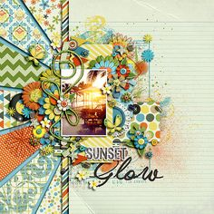 Sunset+Glow - Scrapbook.com
