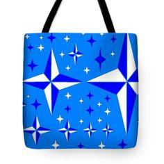 Tote Bag of 'Starlight 9' by Sumi e Master Linda Velasquez.