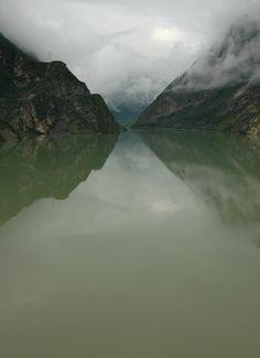Diexi Lake, Sichuan, China