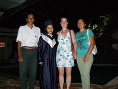 Graduation of a student from High School - made possible through sponsorship