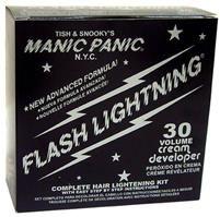Manic Panic FLASHLIGHTNING® Bleach Kit - 30 Volume #BKI54533 - $14 (kind of a rip off, so I think ion brand is vegan...it'll say on the pkg)