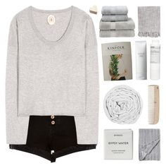 """""""you must be one of the dreamers"""" by nxstalgia ❤ liked on Polyvore featuring River Island, Jardin des Orangers, Byredo, The Fine Bedding Company, HAY, Shiseido, Korres, Christy and Surya"""