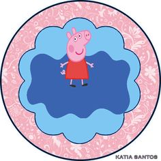 h Pig Birthday, Birthday Parties, Peppa Pig Images, Peppa Pig Printables, Cumple Peppa Pig, Pig Party, Decorative Plates, Html, Quinceanera