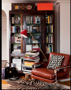 Corner nook  need a different, cushiony, comfortable chair with warm cozy soft throw blanket!!