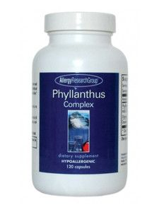 Allergy Research Group- Phyllanthus Complex 120 caps