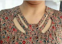 Different types of necklines to try in your Kurtis.Kurta Neck Design for Kurti neck designs.Trendy neck patterns to try in Chudidhar Neck Designs, Salwar Neck Designs, New Kurti Designs, Kurta Neck Design, Neck Designs For Suits, Sleeves Designs For Dresses, Neckline Designs, Kurta Designs Women, Kurti Designs Party Wear